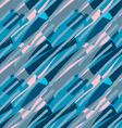 Blue pink and dark blue brushed vector image