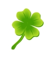 four leaf clover St Patricks day vector image