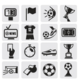 Icons set Soccer vector image vector image