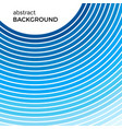 abstract background with bright blue lines vector image
