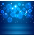 space blue background vector image