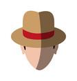 spy or investigator avatar icon image vector image