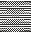Zig zag chevron wrapping tile black white pattern vector image