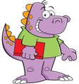Cartoon Dinosaur Kid vector image