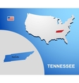 Tennessee vector image