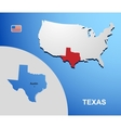Texas vector image vector image