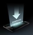 Download icon Hologram vector image