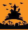 hallowen background vector image