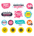 information icons stop prohibition symbol vector image