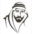 arabian man vector image