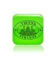 vienna stamp icon vector image vector image