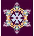 Design element bright pattern vector image