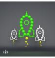 Rocket 3D Concept for Marketing vector image