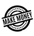 Make Money rubber stamp vector image