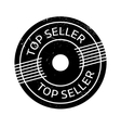 Top Seller rubber stamp vector image