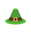 leprechaun hat green isolated national irish vector image vector image