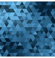 triangle blue vector image