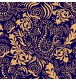 Paisley background in two colors vector image