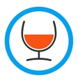 Remedy Glass Rounded Icon vector image