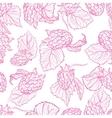 drawing pattern of raspberries vector image