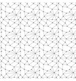 abstract seamless pattern dots and lines vector image vector image