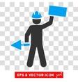 Builder Eps Icon vector image
