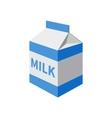 milk packet vector image