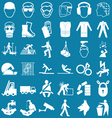 Health and Safety Graphics vector image