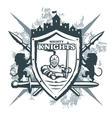 Mighty Knights Print vector image