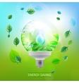 Lighting bulb vector image