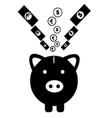 pig money vector image