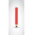 Carpenter pencil vector image