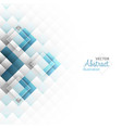 Abstract background square shapes vector image