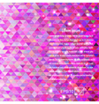 Abstract purple background elements triangle vector image