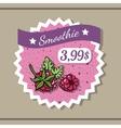 Smoothie Sticker 9 vector image