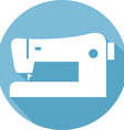 Sewing Machine Icon vector image vector image