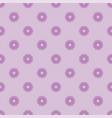 small violet flowers seamless pattern vector image