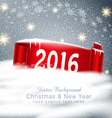 festive background for Christmas and New Year vector image