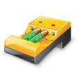 battery charger vector image