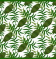 beautiful seamless floral summer pattern vector image