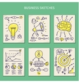 Concepts of idea Sketches vector image