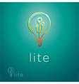 Lite Symbol vector image vector image