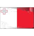 Malta national flag vector image vector image