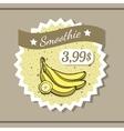 Smoothie Sticker 11 vector image