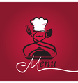 chef hat logo vector image