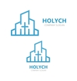 church logo design vector image