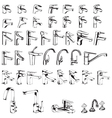 Faucet Collection Set vector image vector image