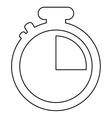 analog chronometer icon vector image