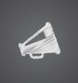 speaker sketch logo doodle icon vector image