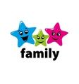 logo family vector image